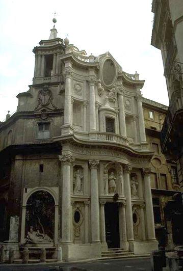 Барокко борромини церковь сан карло
