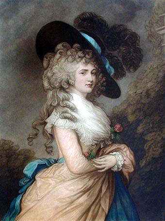 Часы 1740 г гейнсборо портрет дамы