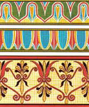 Образцы древнегреческой мозаики и