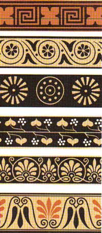 орнамент плетенка в древней греции