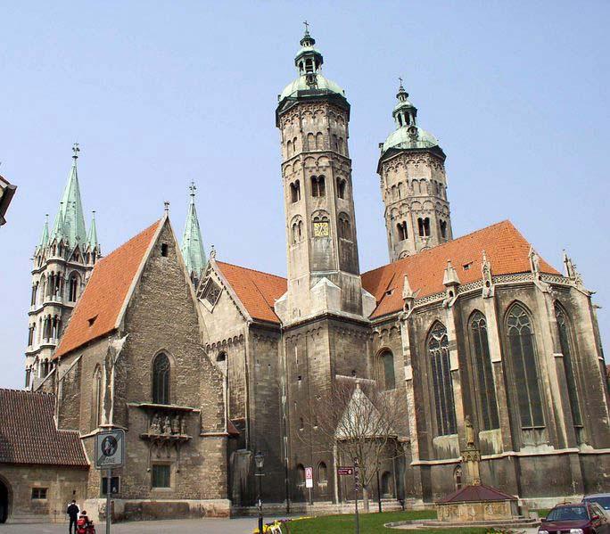 Собор в вормсе немецкая готика собор