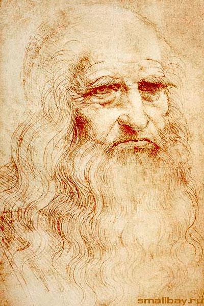 Искусство Высокого Возрождения. Леонардо да Винчи. Автопортрет.