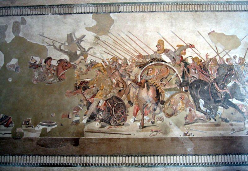 Фреска из помпей третий стиль фреска