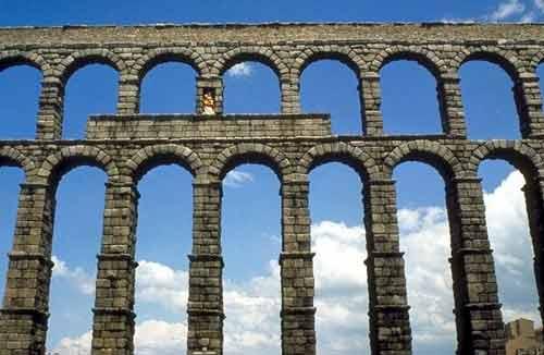 Вилла андриана акведук гарский мост